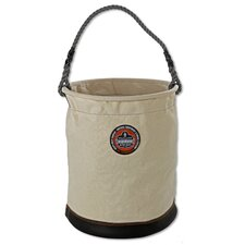 <strong>Ergodyne</strong> Arsenal Extra Large Leather Bottom Bucket in White