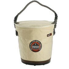 Arsenal Tapered Bucket with Safety Top in White