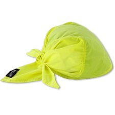 Chill-Its 6710CT Evaporative Cooling Triangle Hat with Cooling Towel