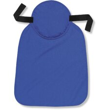 Chill-Its Cooling Hard Hat Pad with Neck Shade in Solid Blue