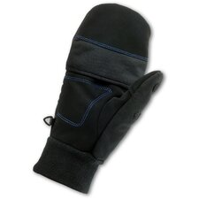 ProFlex 816 Thermal Flip-Top Gloves in Black