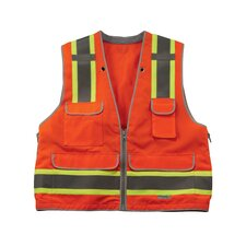 GloWear 8254HDZ Class 2 Heavy-Duty Surveyors Vest