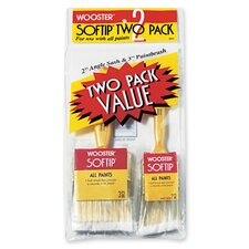 Softip® 2 Pack Value Paint Brushes 5971