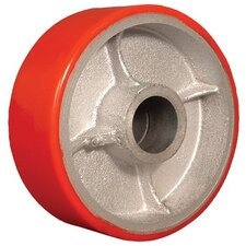 "Wheels - 6""x2""polyurethane treadwheel  cast iron core wh"