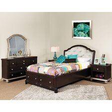 Girls' Glam Storage Bedroom Collection