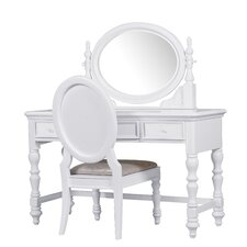 Sweet Heart 3 Piece Vanity Set
