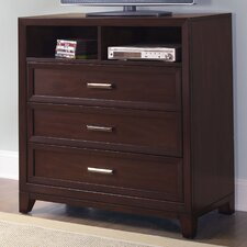 <strong>Samuel Lawrence</strong> Fairview 3 Drawer Media Chest