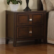 Bayfield 2 Drawer Nightstand