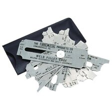 "Weld Fillet Gages - weld fillet gage set 1/8""-1"""
