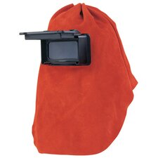 "Leather Welding Hood With 2"" X 4 1/4"" Lift Front"