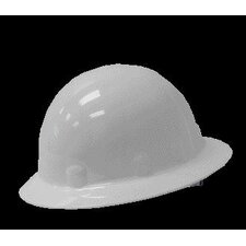 SUPEREIGHT® Class E, G or C Type I Thermoplastic Hard Hat With Full Brim And 3-R Ratchet Suspension