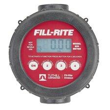 """Digital Flow Meters - 20gpm digital lcd meter1"""" inlet &"""