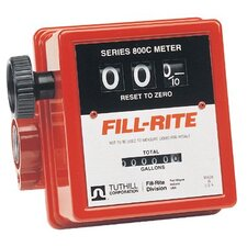 "Mechanical Flow Meters - 1"" in-line flow meter20gpm serie"