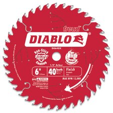 "<strong>Freud</strong> 6"" Hi-Density 40T Diablo® Saw Boss Saw Blade  D0640X"