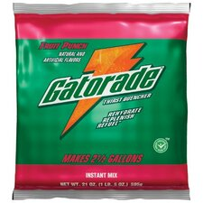 Gatorade® Instant Powder - 1qt.pkg.fruit punch 24/case x 6=mcs 1 mcs=144pk