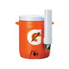 Gallon Cooler With Fast Flow Spigot And Cup Dispenser
