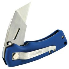 Gerber - Sk-Edge Folding Utility Knives Sk-Edge Rub  Folding Utility  Blue: 313-22-00563 - sk-edge rub  folding utility  blue