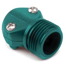 Female Coupling Hose Mender in Green - 0.5 Inch