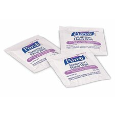 Purell® Instant Hand Sanitizer Wipes - purell individually wrapped towelletes (1000/cs)