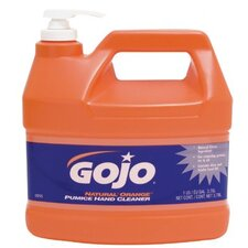 <strong>Gojo</strong> Lotion Hand Cleaners - 1-gal w/pump natural orange lotion w/pumice hand