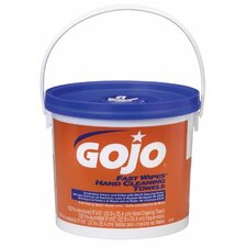 Hand Cleaning Towels - gojo fast wipes130 wipes/b