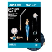 Target® Air-Propane Torch Outfits - pro-flame threaded stylepropane kit w/bp-15 pm
