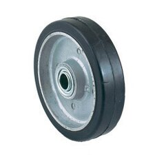 "6"" X 1 1/2"" Mold-On Rubber Wheel"