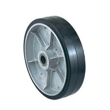 "10"" X 2 1/2"" Mold-On Rubber Wheel"