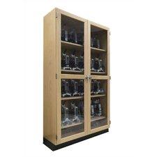 Mobile Series 2 Tier 2 Wide Microscope Storage Locker