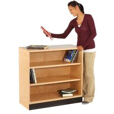 "Open Floor Storage 35"" H 2 Shelf Shelving Unit"