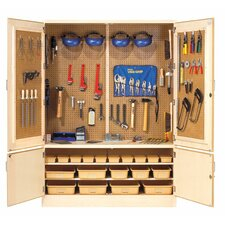 "<strong>Diversified Woodcrafts</strong> 60"" Tool Storage Cabinet"