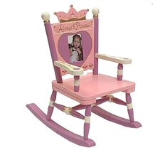 Rock A Buddies, Jr. Princess Mini Kid Rocking Chair