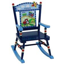Gettin' Around Kid's Rocking Chair