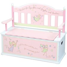 <strong>Levels of Discovery</strong> Fairy Wishes Kid's Storage Bench