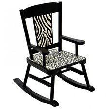 Wild Side Kid's Rocking Chair