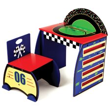 Race Track Activity Desk Set