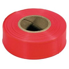 Flagging Tapes - 300-r flagging tape red
