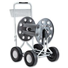 Jumbo 4 Wheel Hose Cart