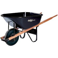 Jackson® Contractors Wheelbarrows - 6cu.ft. steel tray contractor wheelbarrow