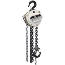 Jet - L100 Series Manual Chain Hoists L100-1000-20 10T Hoist With 20 Ft Of Lft: 825-101020 - l100-1000-20 10t hoist with 20 ft of lft