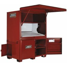 "Heavy-Duty Field Office - jobox field office 42"" x63"" x 80"""