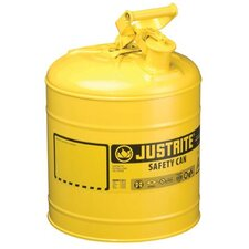 Justrite - Type I Safety Cans 5G/19L Safe Can Yel: 400-7150200 - 5g/19l safe can yel