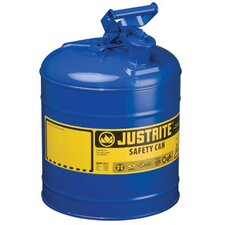 Justrite - Type I Safety Cans 5G/19L Safe Can Blu: 400-7150300 - 5g/19l safe can blu