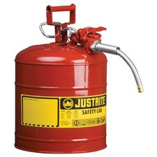 UNO™ Type ll Safety Cans for Flammables - 5g/19l iiaf red 5/8 hose