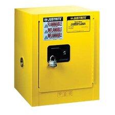 """44"""" H x 23.25"""" W x 18"""" D 15 Gallon Countertop & Compac Cabinet"""