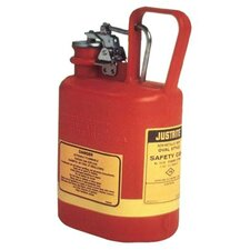 Oval Nonmetallic Type l Safety Cans for Flammables - safety can 1gal