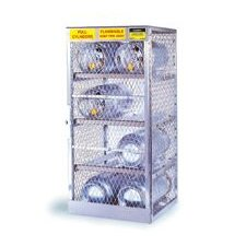 "X 30"" X 32"" 8 Cylinder Horizontal Storage Locker For Flammables"