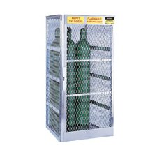 Aluminum Cylinder Lockers - vertical 5-10 cylinderlocker