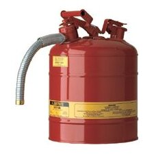 "2.5 Gallon Safety Can, Type II, 9"" Hose"
