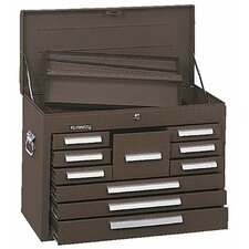 Mechanics' Chests - 00078 mechanic chest 10drawer brown